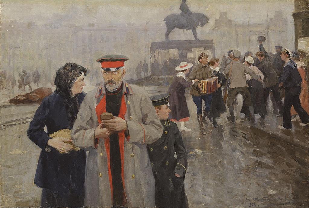 1918. На улицах Петрограда