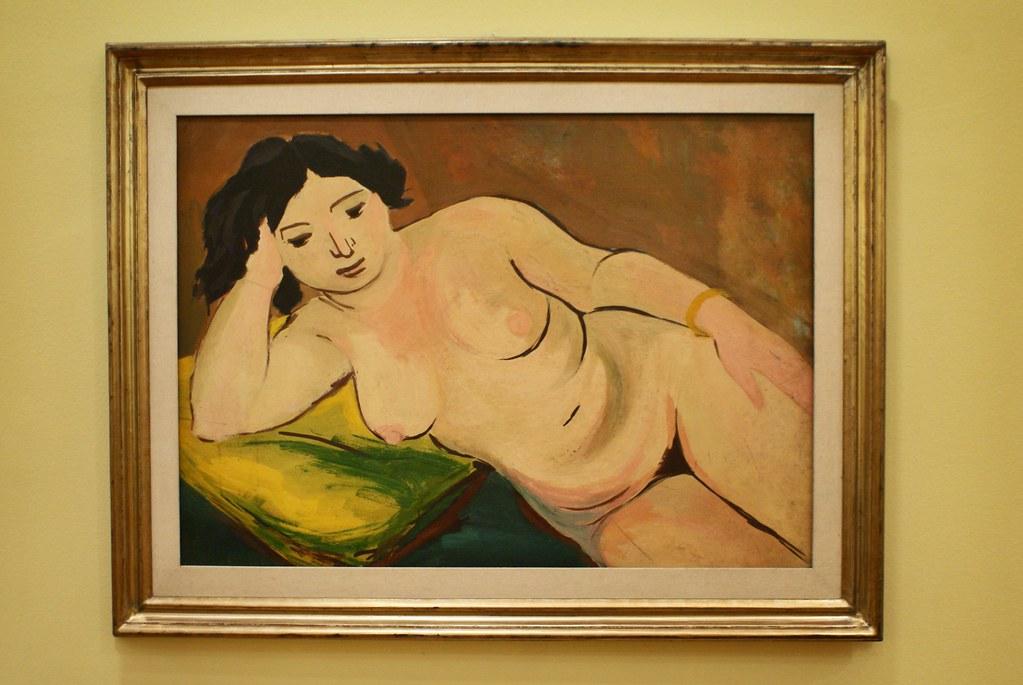 """Nudo femminile"" (1933) par Luigi Spazzapan - GAM, musée d'art moderne de Turin."