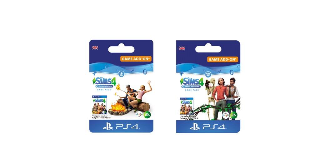 Foto de The Sims 4 Retiro ao Ar Livre e Aventuras na Selva Chegando aos Consoles