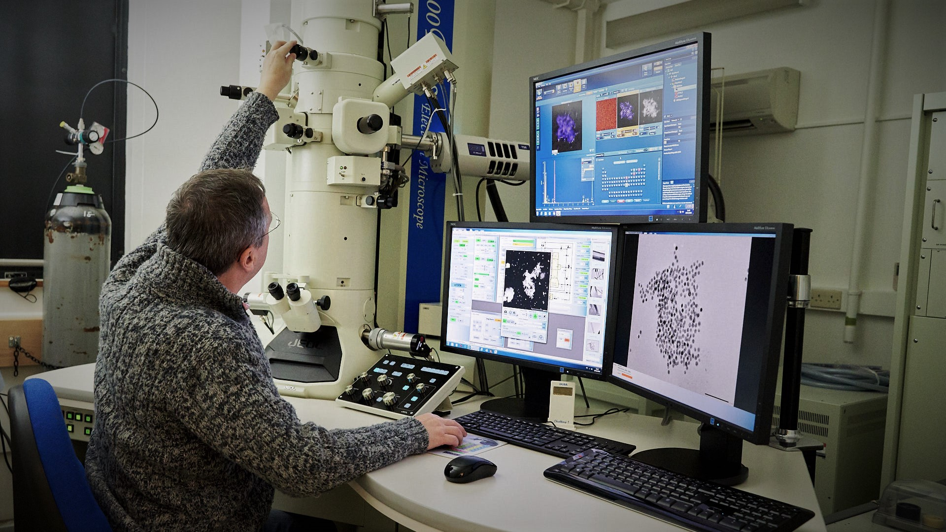 JEOL 2010PLUS Transmission Electron Microscope