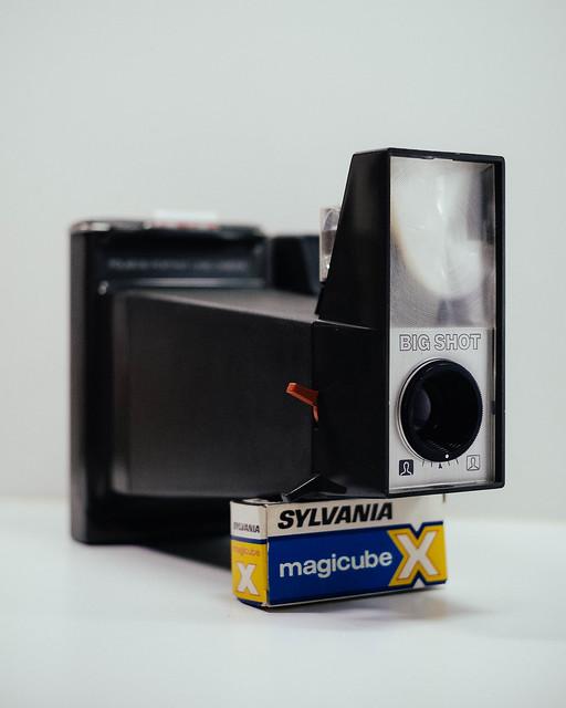 Polaroid Big Shot, Fujifilm X-Pro1, XF35mmF1.4 R