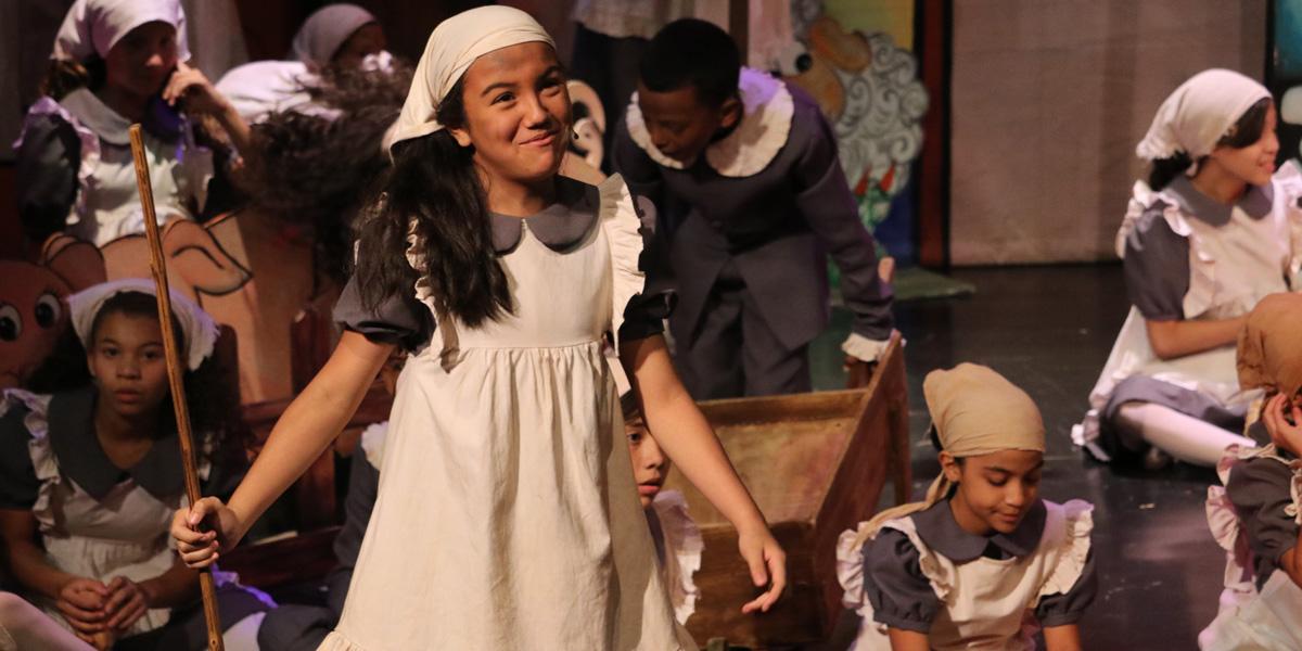 Obra de teatro para niños de la Cancillería