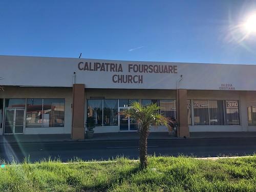 Calipatria Foursquare Church, Calipatria, California