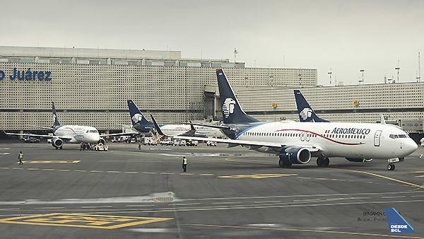 Aeromexico MEX T2 (Benjamín Concha)