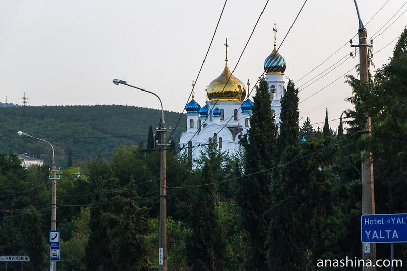 Храм Святых Царственных Страстотерпцев в Алуште, Крым