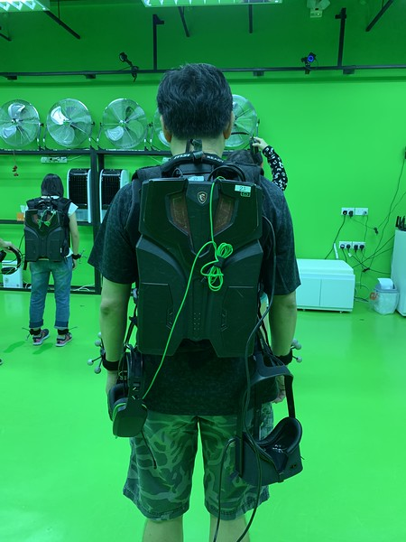 Sandbox VR (Singapore) - Equipped - Back
