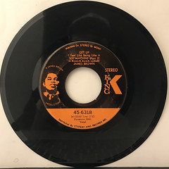 JAMES BROWN:GET UP I FEEL LIKE BEING LIKE A SEX MACHINE(RECORD SIDE-B)