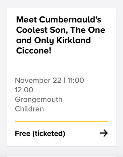 Book Week Scotland, Kirkland Ciccone