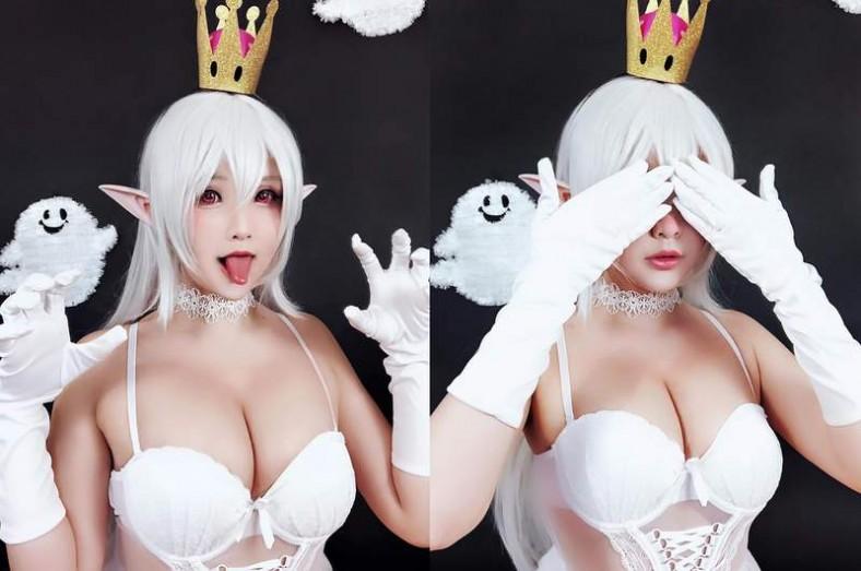 超性感的火辣Coser《Hana Bunny》,看着她的Cosplay作品真是享受