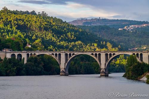 Rio Tamega bridge at Entre-os-Rios