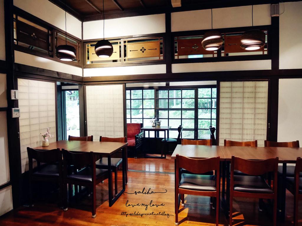 台北古亭站附近不限時日式咖啡廳下午茶推薦雅鴿書院 (17)