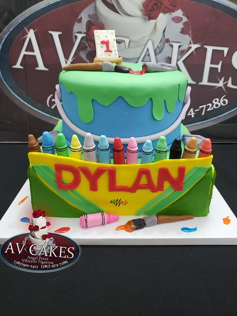 Cake by Avcakes