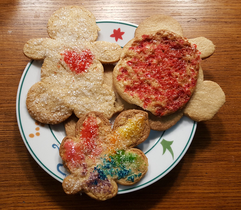 Holiday Butter Cookies, December 2018