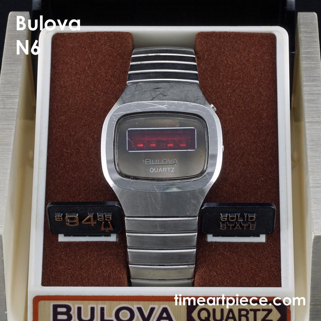 Bulova N6 LED