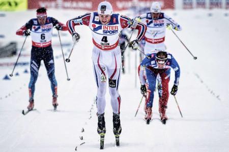 Struktury běžeckých lyží