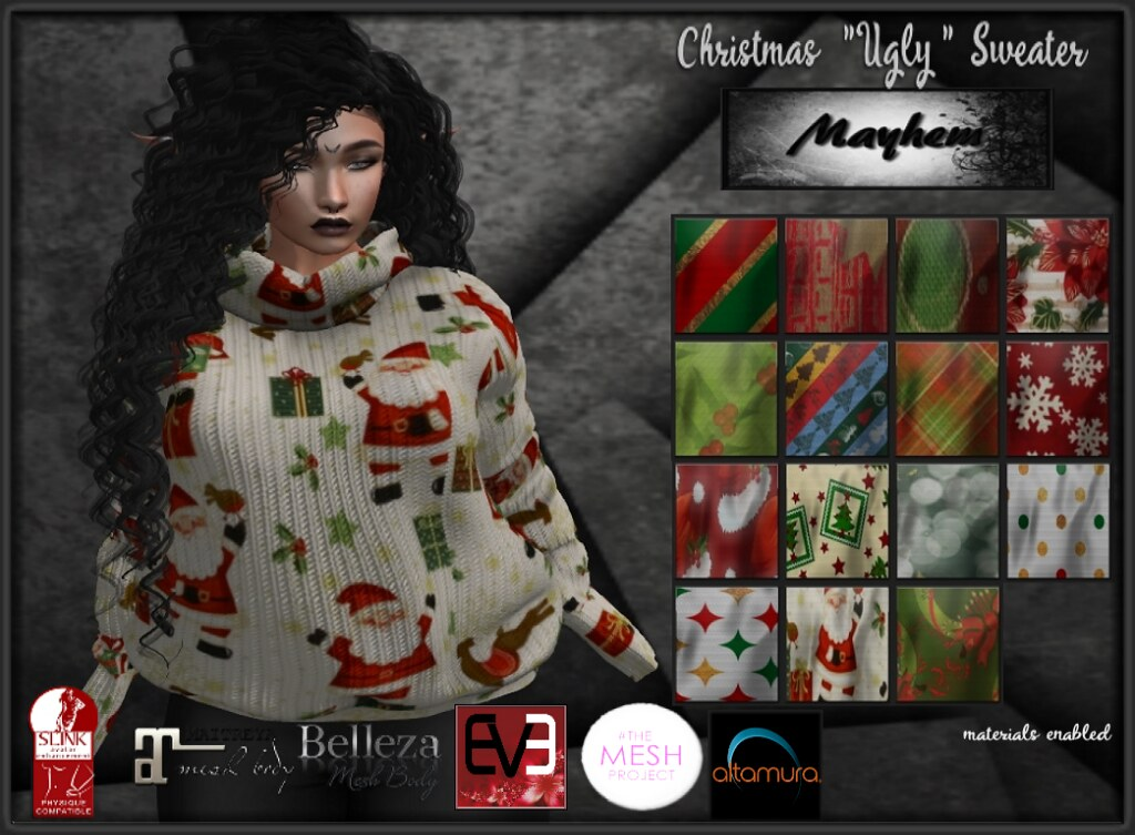 "Mayhem ""Ugly"" Christmas Sweater AD - TeleportHub.com Live!"