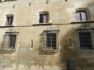 Casa del Doctor Trujillo Palacio de Justicia ventanas Plasencia Caceres