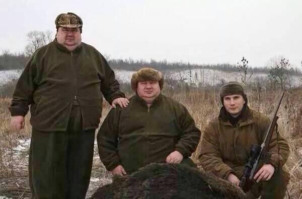 Братья Аврамовы в компании Александра Януковича