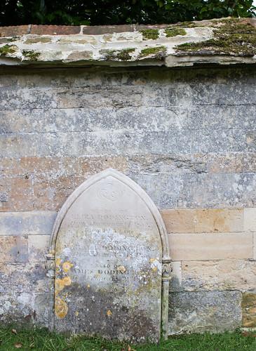 Eliza, Mahala & James Dodington headstone, Iwerne Courtney