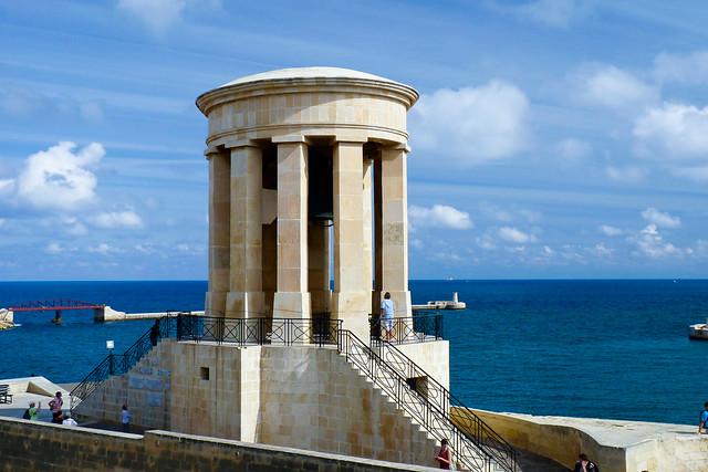 Siege Bell War Memorial, Valletta.