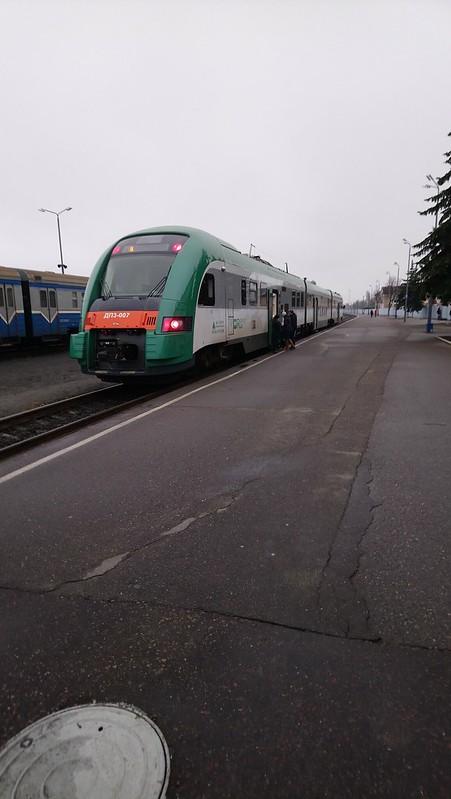 Tren Polotsk-Minsk