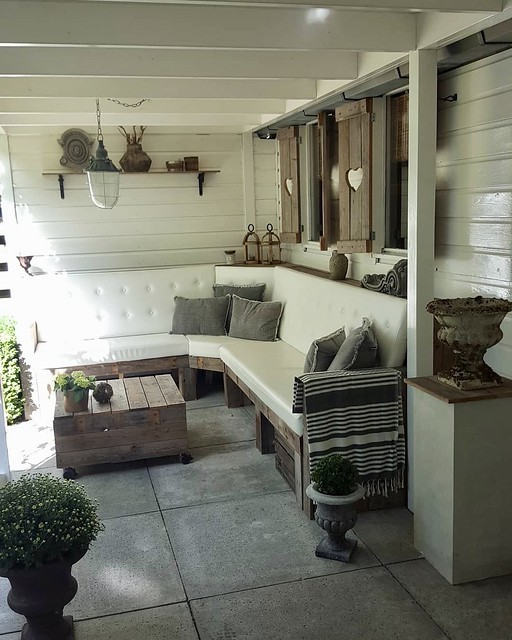 Veranda loungeset naturel