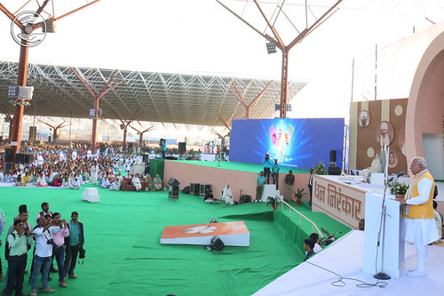 Haryana CM Manohar Lal Khattar presided the congregation