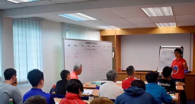 Singapore - 2018 ITTF Level 2 Coaching Course