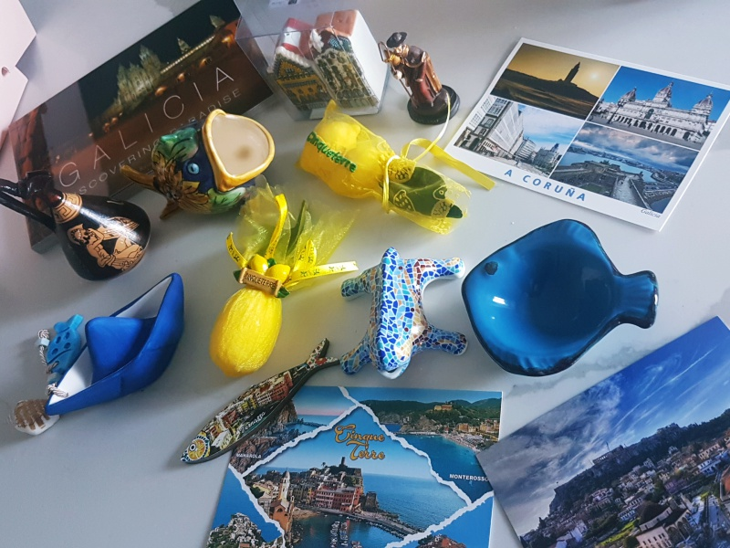 souvenirs from Europe