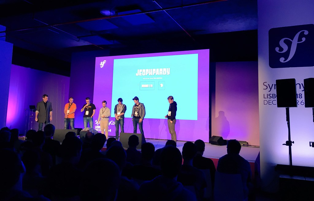 SymfonyCon Lisbon 2018 - Jeopardy Contestants