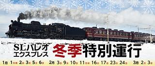 SLパレオエクスプレス★冬季特別運行