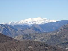 Vue du Mont Ours : Mont Mounier