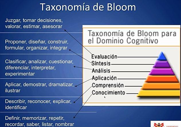 dOMINIOS DE bLOOM