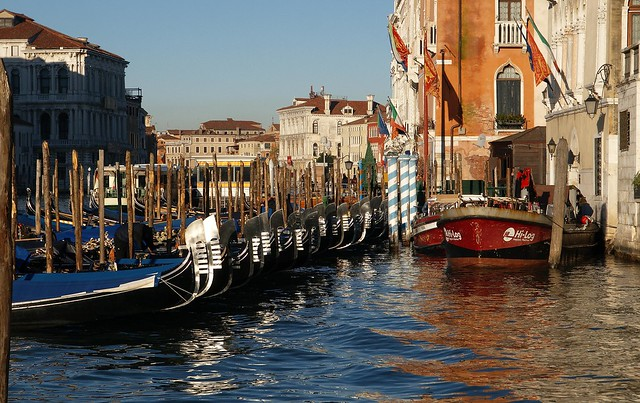 Gondola at rest - tête de gondole