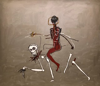Riding with Death, 1988, Jean-Michel Basquiat