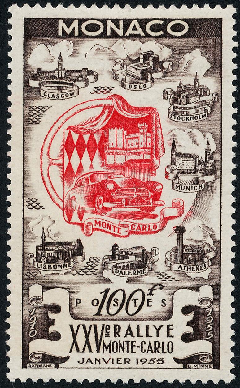 Monaco - Scott #333 (1955)
