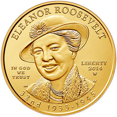2014-W Eleanor Roosevelt $10 Gold Coin
