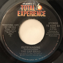 THE GAP BAND:OUTSTANDING(LABEL SIDE-A)