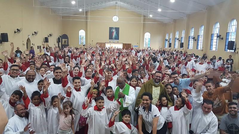 Encontro Diocesano de Coroinhas - Foranias Imaculada, Rosário e Aparecida - 11/11/2018