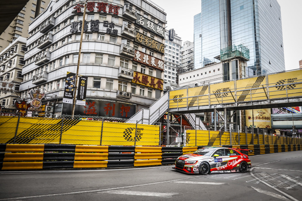 60 SOUZA Filipe (MAC), Champ Motorsport, Audi RS 3 LMS, action during the 2018 FIA WTCR World Touring Car cup of Macau, Circuito da Guia, from november  15 to 18 - Photo Francois Flamand / DPPI