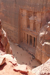 Treasury Viewpoint in Petra (1)