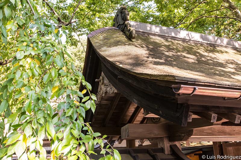 Puerte de la residencia Aoyagi en Kakunodate
