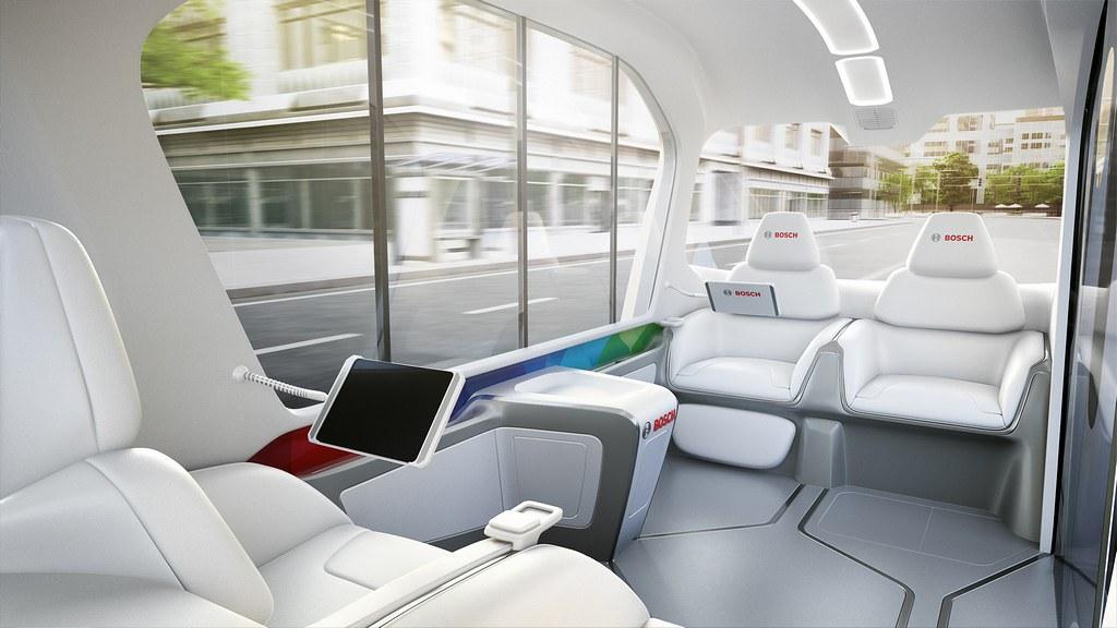 Bosch konceptno vozilo CES 19 2am#