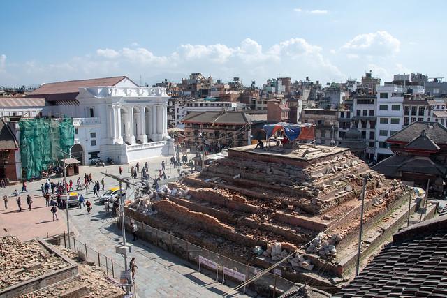 Durbar Square et Thamel