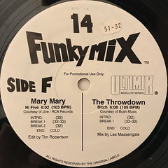 V.A.:FUNKY MIX 14(LABEL SIDE-B)
