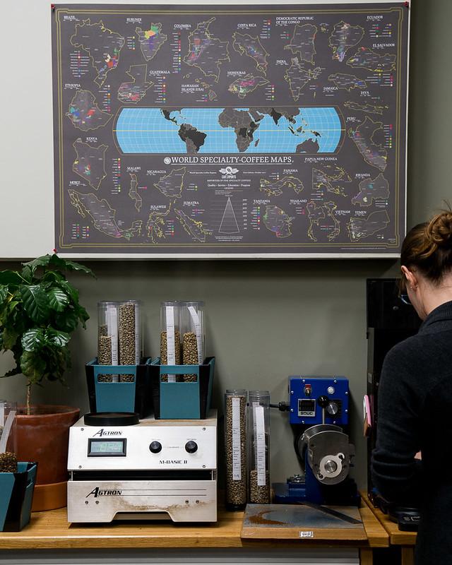 Bản đồ cà phê thế giới - World Coffee Map (2)