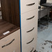 New stock walnut and gloss 5 high chest E125