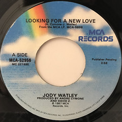 JODY WATLEY:LOOKING FOR A NEW LOVE(LABEL SIDE-A)