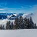Rigi Panoramic Trail near Rigi Scheidegg, Switzerland. by j1985w