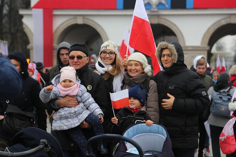 Warszawa Świętuje Niepodległość - 11XI2018